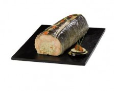 Stuffed Salmon Fillets with Shrimp Mousseline