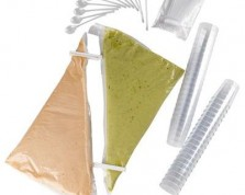 kit verrines suprême de Saumon & Suprême d'Asperge