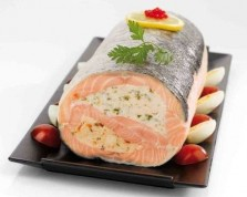 Stuffed Salmon Fillets with 2 flavours