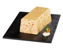 Organic Trout Terrine with Baby Vegetables