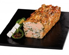 Salmon Florentine with Spinach