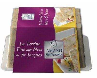 La Terrine fine aux Noix de Saint-Jacques (400g)