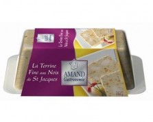 Fine Terrine with Saint-Jacques Nuts (240g)