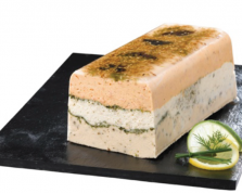 Amand Traiteur, prsente sa Terrine aux trois poissons