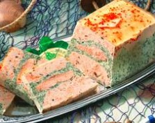 Terrine iode pour Amand Traiteur