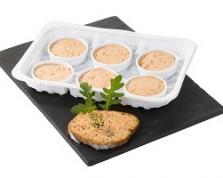 (Français) Mini rillettes de saumon